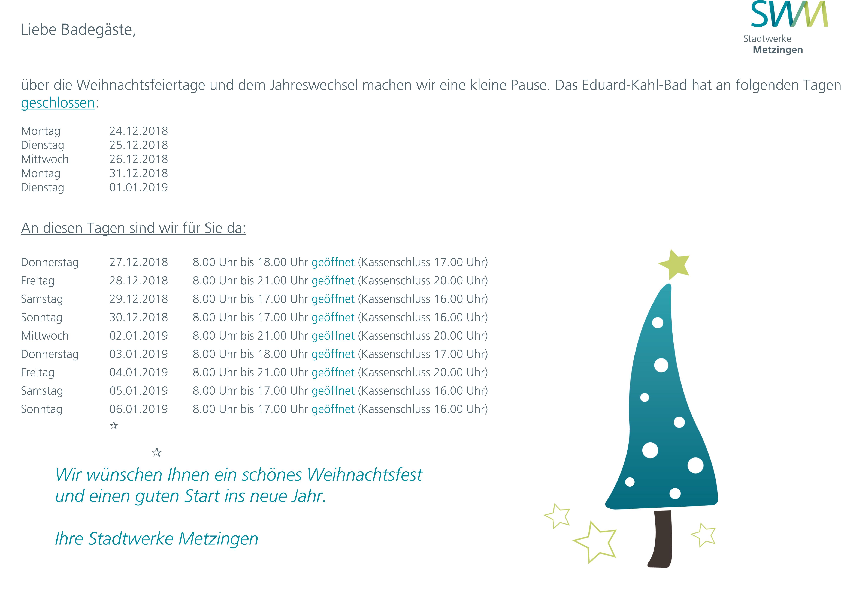 Weihnachten_2018_Feiertage
