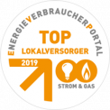 Eneregieverbraucherportal: Top Lokalversorger 2019