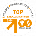 Eneregieverbraucherportal: Top Lokalversorger 2020