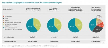 Grafik Stromkennzeichnung 2020