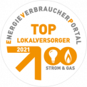 Eneregieverbraucherportal: Top Lokalversorger 2021