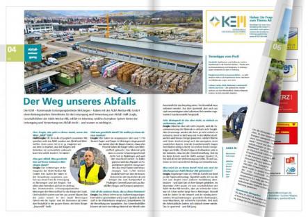 Seite 4 und 5 der Ausgabe 02/2021 des Stadtwerke Metzingen Magazins